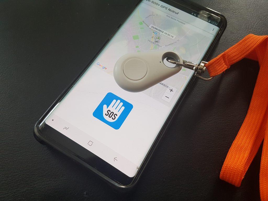 pe-SOS Notfallknopf und App